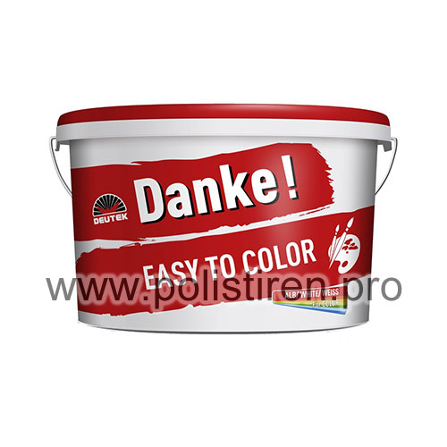 DANKE Easy to Color 10 L vopsea lavabila interior