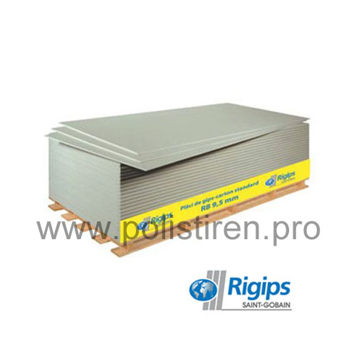Placa gips carton RIGIPS RB 12.5 mm