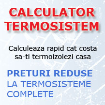 Calculator termosistem